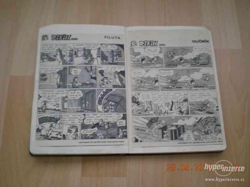 obrázkové komiksy PIF, PIFík, Pepek námořník, Méďa Béďa atd. - foto 9