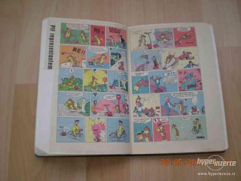 obrázkové komiksy PIF, PIFík, Pepek námořník, Méďa Béďa atd. - foto 11