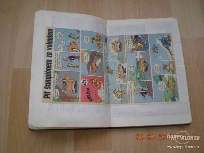 obrázkové komiksy PIF, PIFík, Pepek námořník, Méďa Béďa atd. - foto 12
