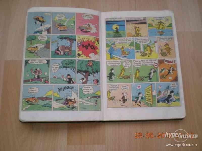 obrázkové komiksy PIF, PIFík, Pepek námořník, Méďa Béďa atd. - foto 13