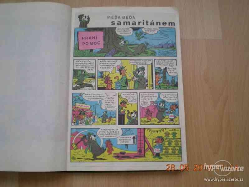 obrázkové komiksy PIF, PIFík, Pepek námořník, Méďa Béďa atd. - foto 15