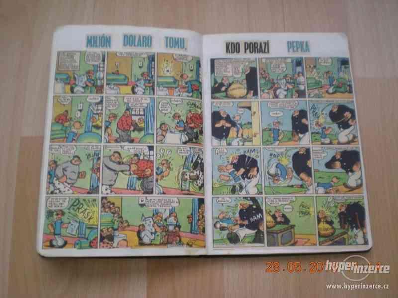 obrázkové komiksy PIF, PIFík, Pepek námořník, Méďa Béďa atd. - foto 19