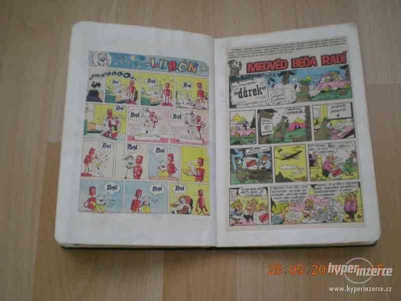 obrázkové komiksy PIF, PIFík, Pepek námořník, Méďa Béďa atd. - foto 23
