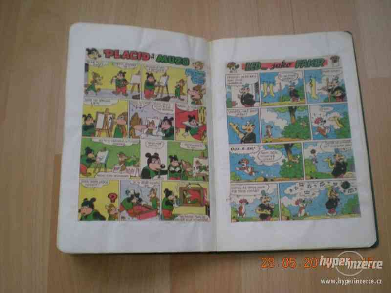 obrázkové komiksy PIF, PIFík, Pepek námořník, Méďa Béďa atd. - foto 24