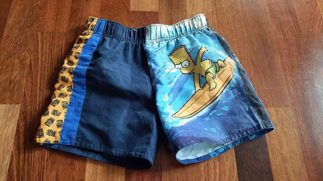 Plavky vel.110/116 Simpsons