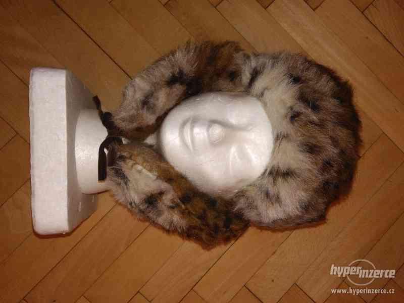Zimní čepice ušanka