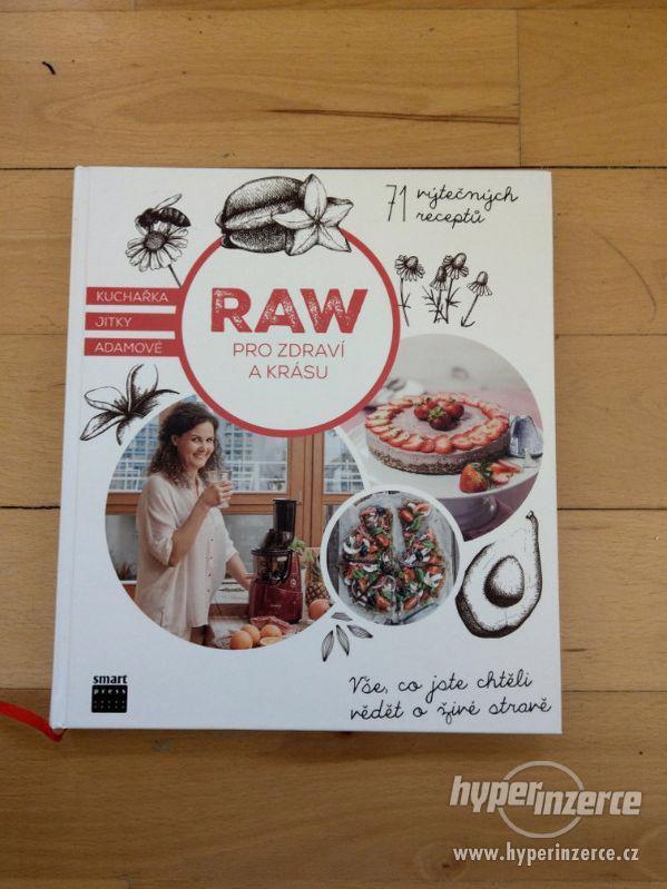 Nová nečtená kniha RAW pro zdraví a krásu