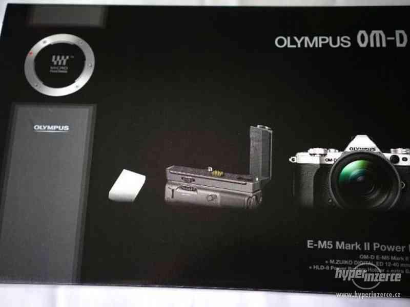 NEW! OLYMPUS OMD EM 5 II Značka II + Zuiko Digital ED12-40