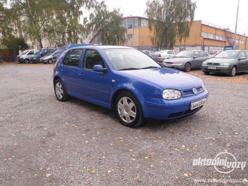 Volkswagen Golf 1.6, benzín, vyrobeno 2000, el. okna, STK, centrál, klima - foto 1