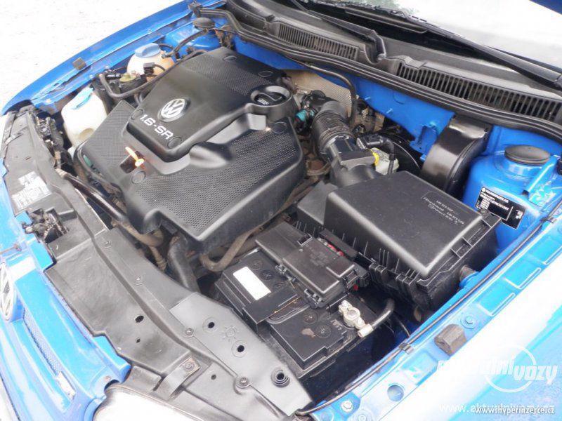 Volkswagen Golf 1.6, benzín, vyrobeno 2000, el. okna, STK, centrál, klima - foto 13
