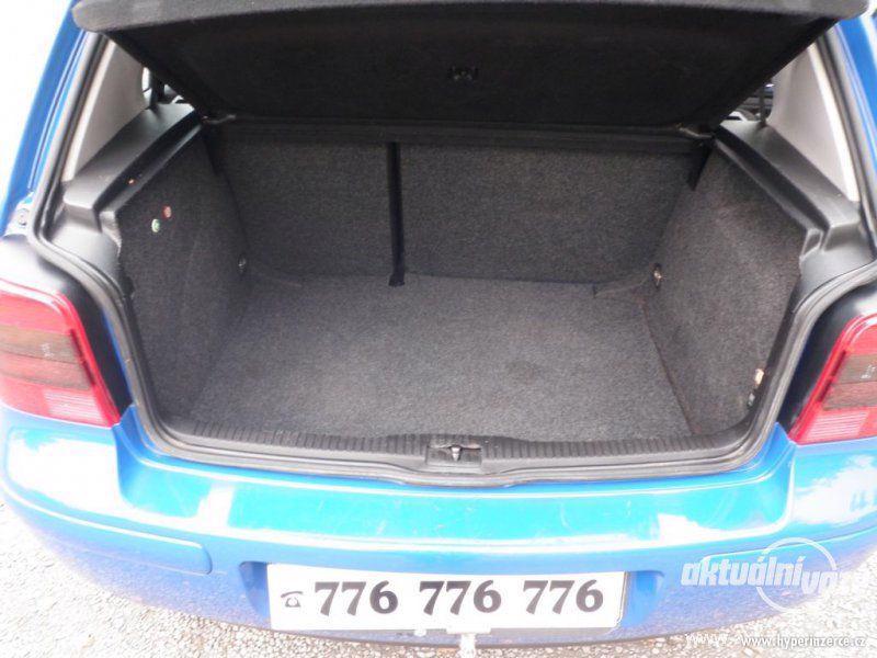 Volkswagen Golf 1.6, benzín, vyrobeno 2000, el. okna, STK, centrál, klima - foto 15