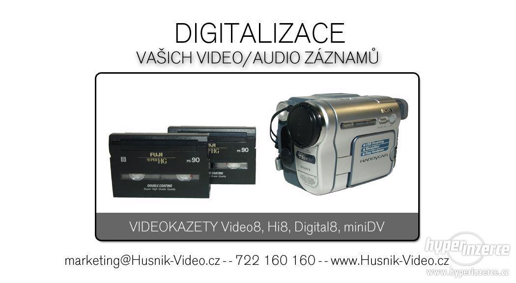 Digitalizace kamerových videokazet - foto 1