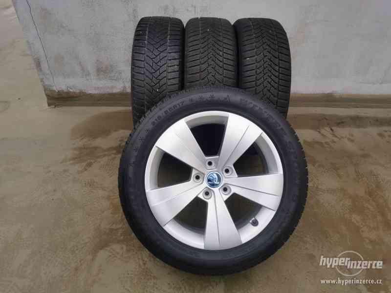 215/55R17 zimní pneu škoda superb III 6,5x17 5x112x57 ET41