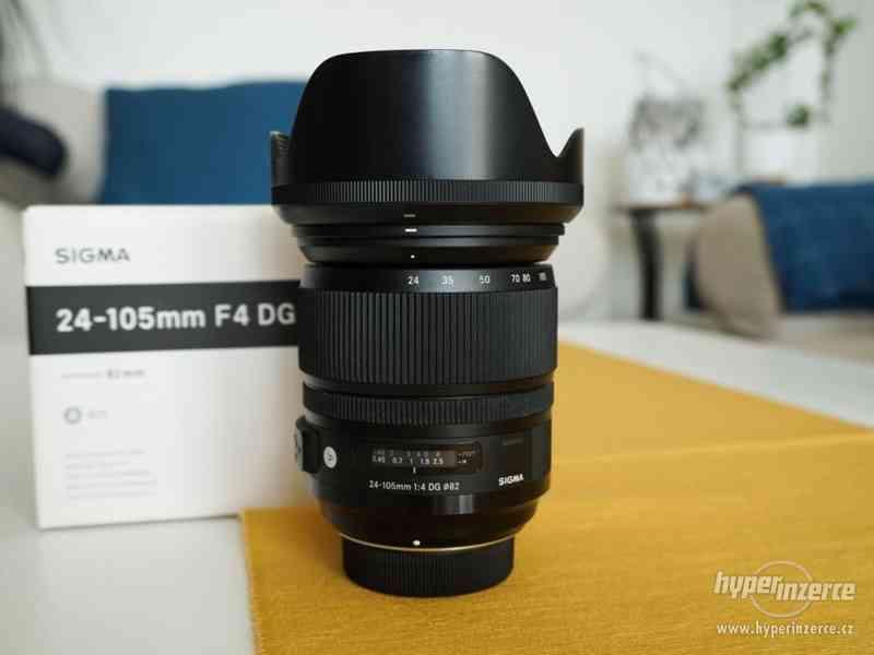 Sigma 24-105mm /f4 Art Nikon - v záruce + CPL filtr