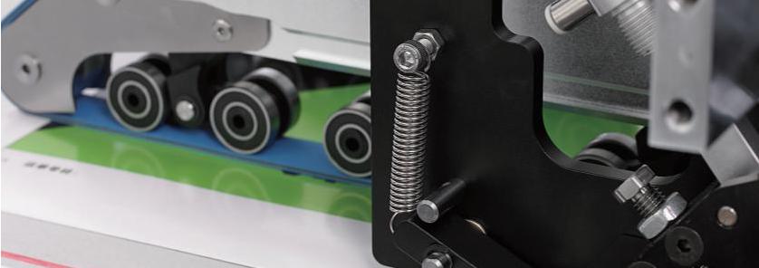 Automatický stroj na nanášení oboustranné pásky 1100 B - foto 4