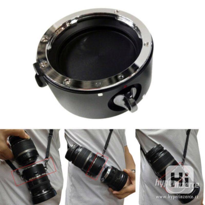 Double držák objektivů pro Nikon / Canon / Sony - Lens KIT - foto 1