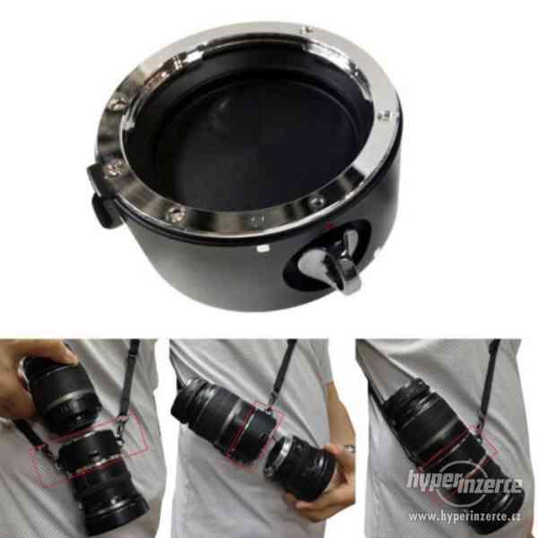 Double držák objektivů pro Nikon / Canon / Sony - Lens KIT
