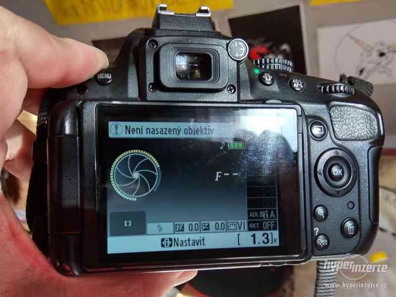 Prodám digitální zrcadlovku Nikon D5100 - foto 3