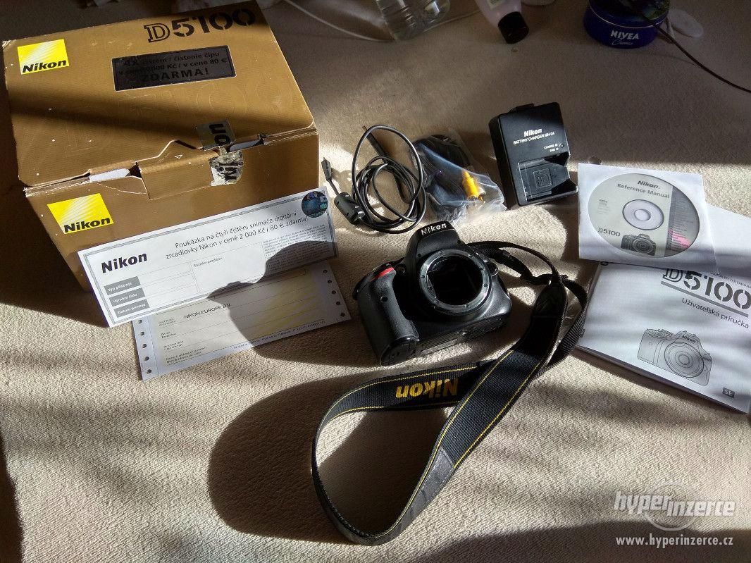 Prodám digitální zrcadlovku Nikon D5100 - foto 1