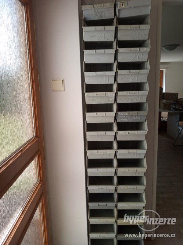 Plastové skládací boxy na materiál - foto 1