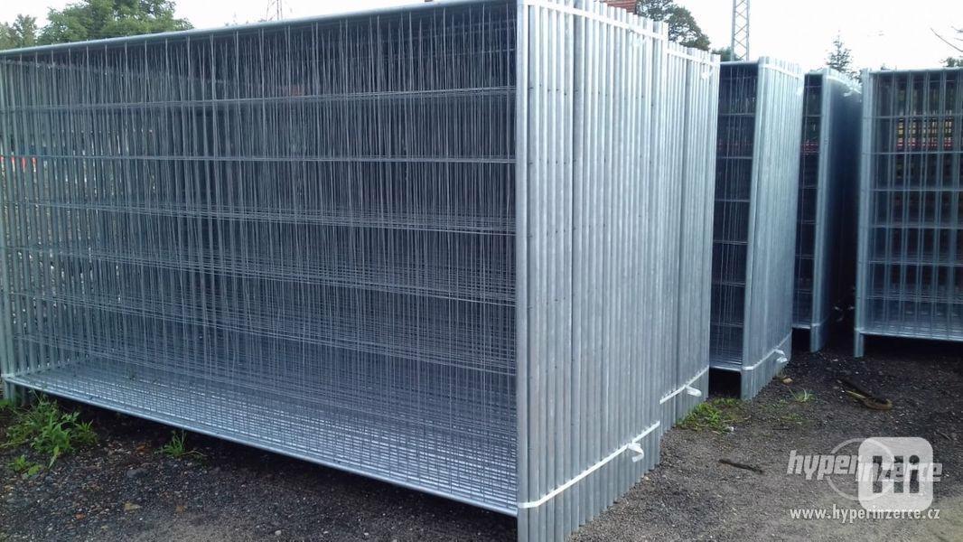 Mobilní oplocení - Stavební ploty 3,5m x 2,0 m
