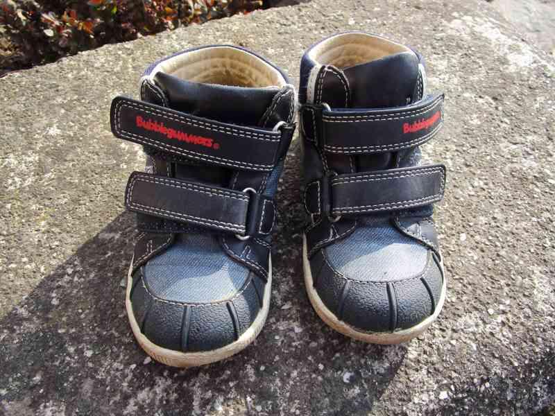 Dětské boty Bubblegummers vel. 23
