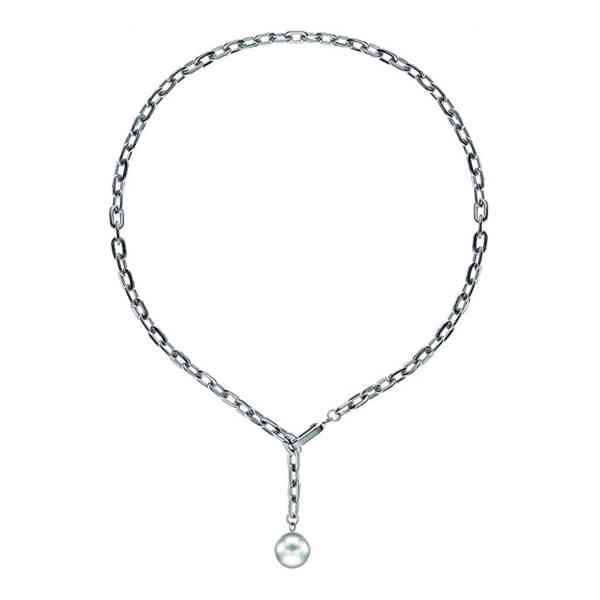 Liebeskind Berlin - Dámský perlový náhrdelník z ušlechtilé o - foto 3