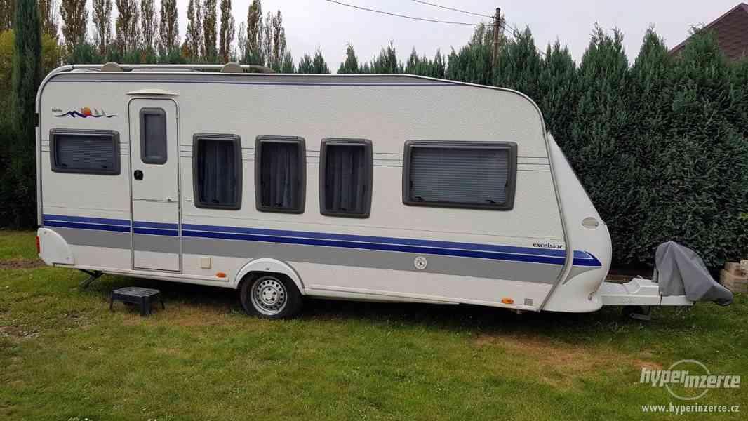 Prodám karavan Hobby 520 Excelsior