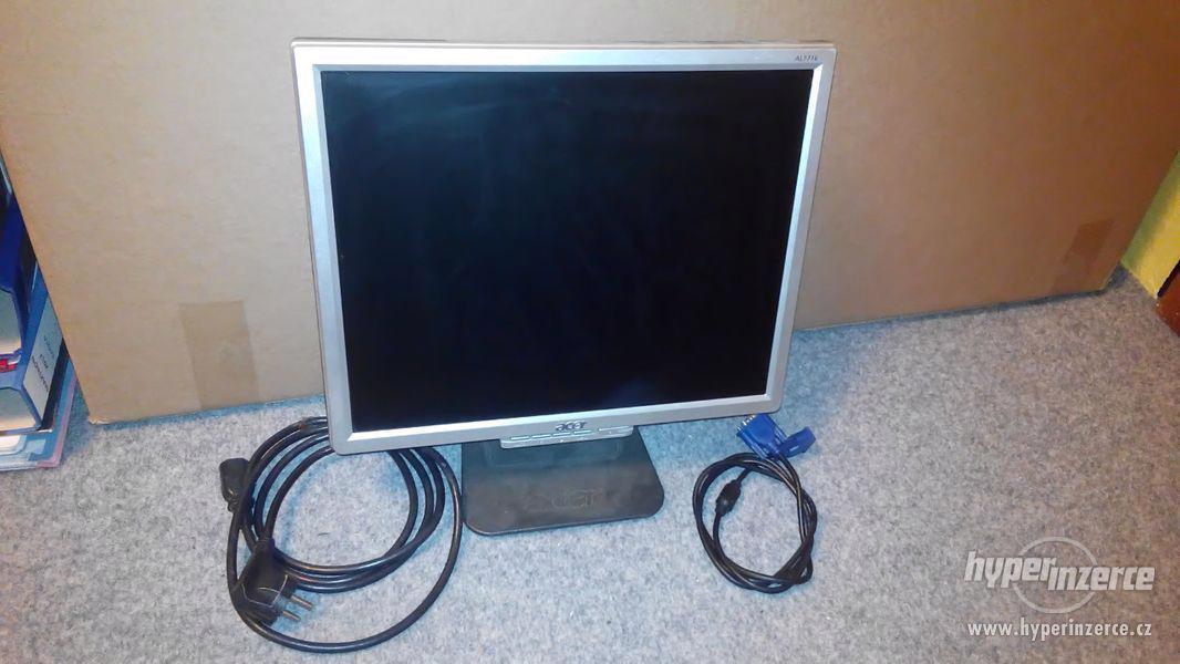 """Monitor 17"""" Acer AL1716 + kabely"""
