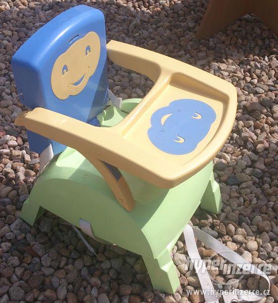 Dětská plastová židlička / stolička