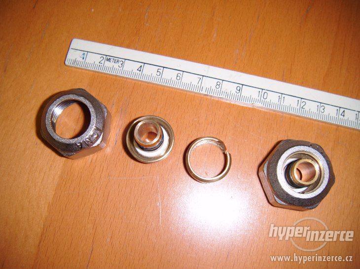 """Svěrné šroubení  3/4"""" na 12mm /eurokonus/"""