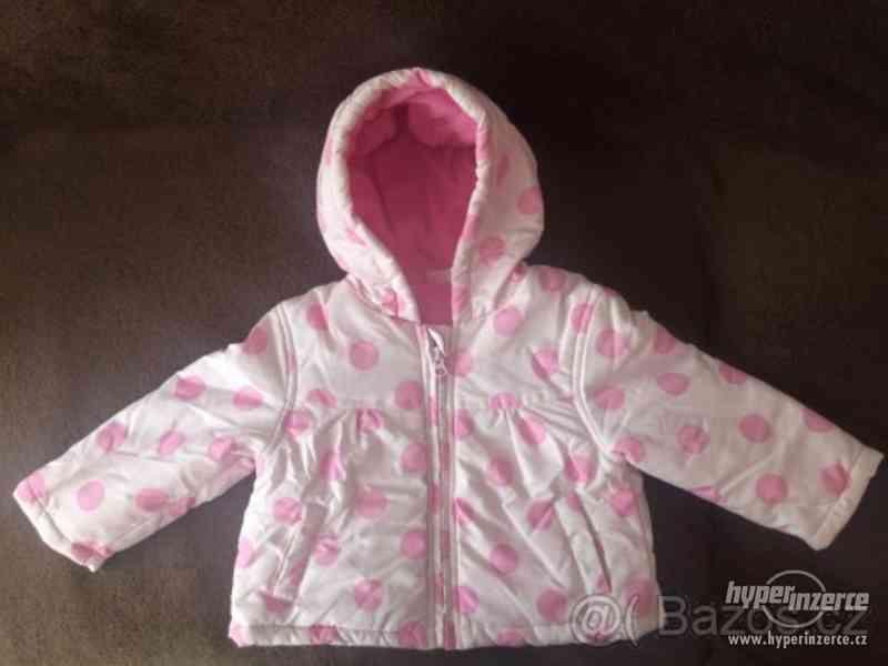 Dětská zimní bunda 12-18 měsíců