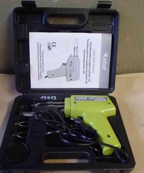 Pájecí transformátorová pistole 230 V - 50 Hz, 100 W 9921 (1