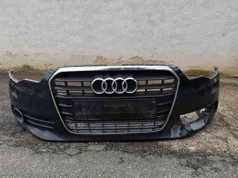 Přední nárazník Audi A6 C7(4G)+ maska