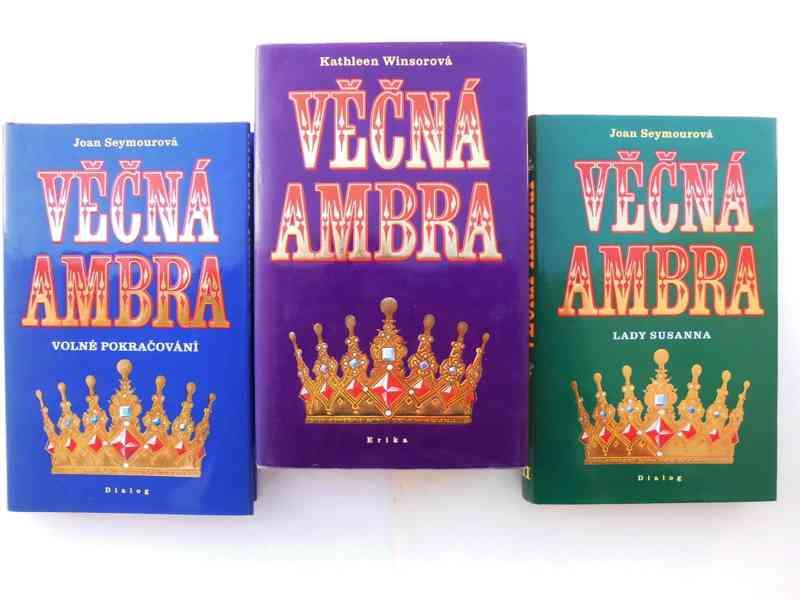 Austenová, McDonaldová,Pilcherová,3xAmbra,Simmel,Andrewsová  - foto 2