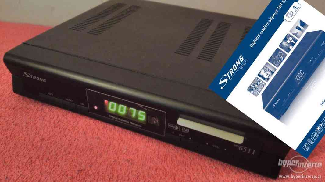 Satelitní digitální přijímač Strong SRT6511.