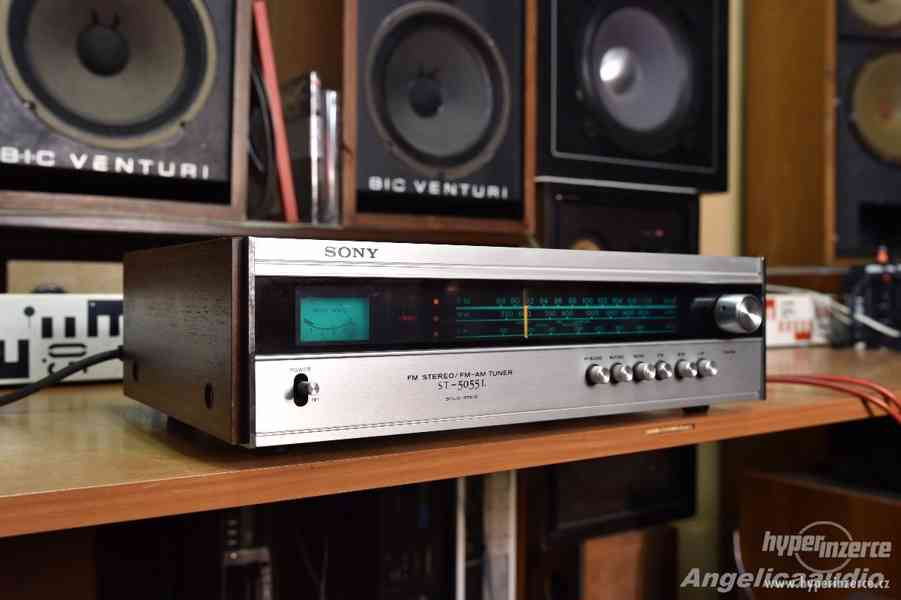 SONY ST-5055L solid state FM/AM tuner, made in JAPAN 1972