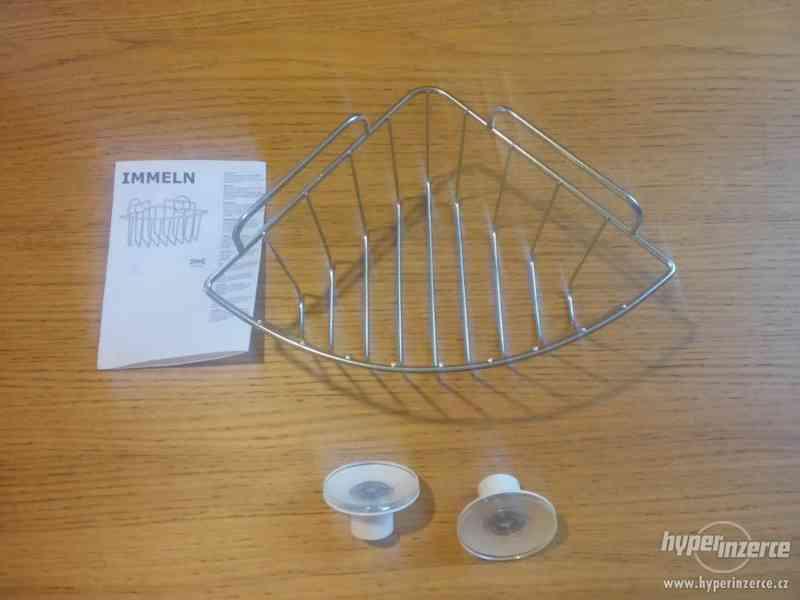 Závěsná rohová police IKEA (řada IMMELN) - nepoužité! - foto 3