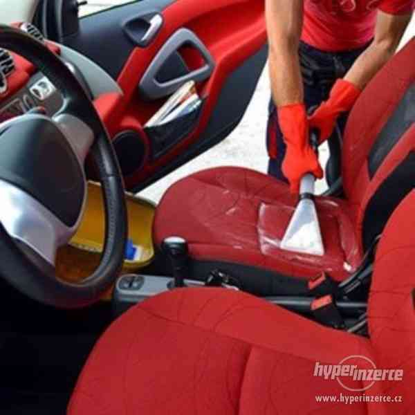 Čištění interiéru vozidla-Tepování