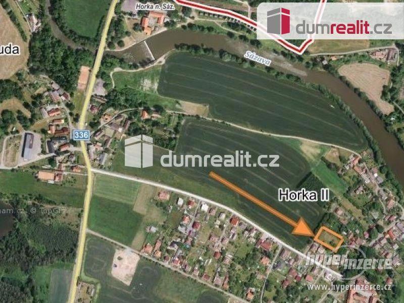 Stavební pozemek o výměře 1 796 m2, Horka - foto 2