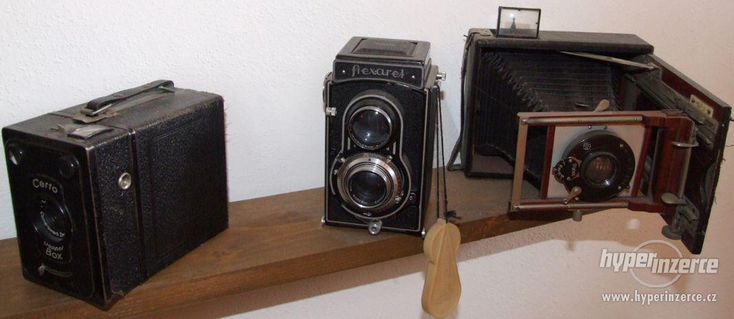 Sbírka retro fotoaparátů a příslušenství - foto 3