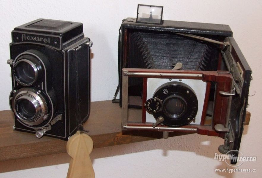 Sbírka retro fotoaparátů a příslušenství - foto 4