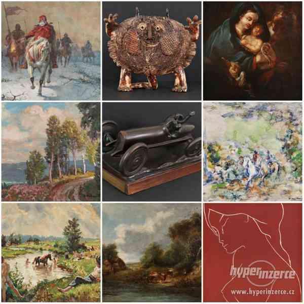 74. aukce obrazů online