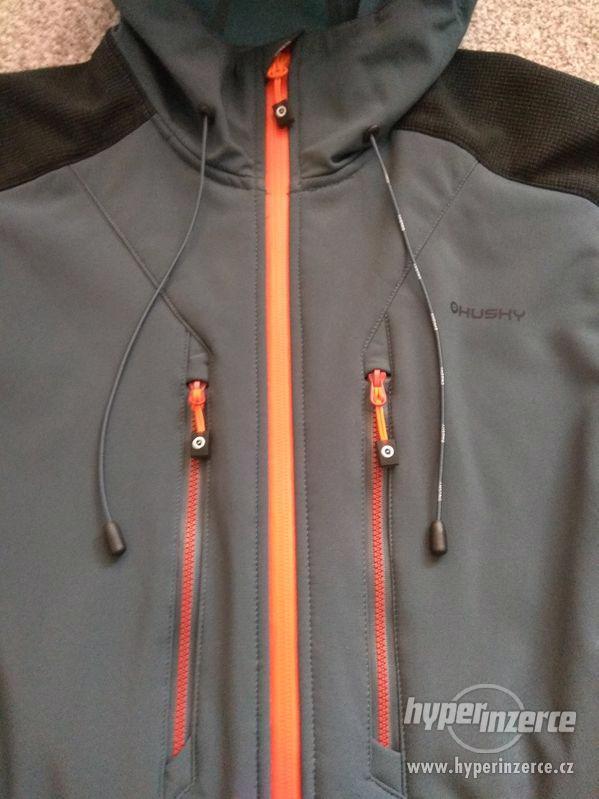 Nová pánská softshellová bunda HUSKY - L - 10 000/10 000 - foto 4