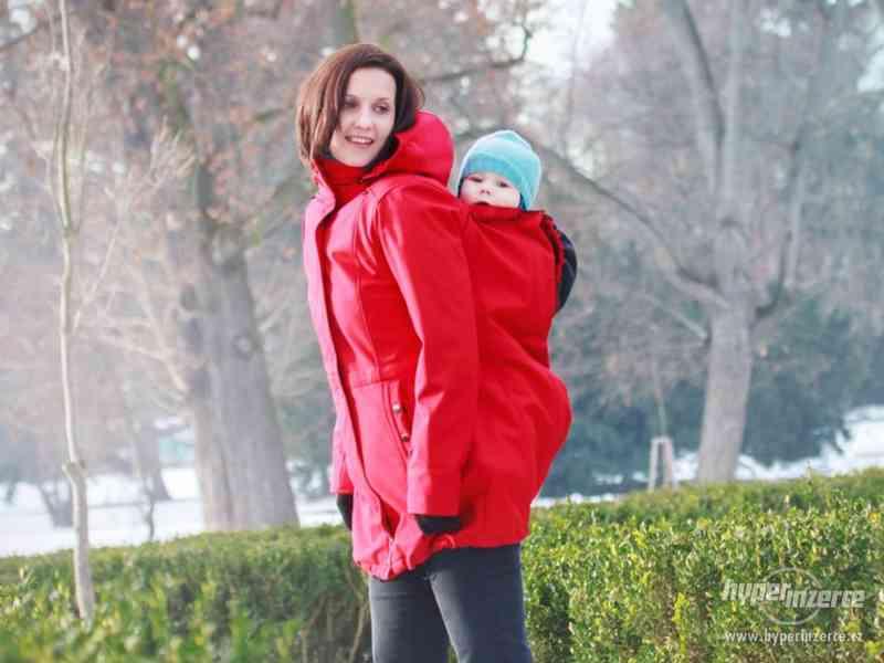 Těhotenská / nosící bunda 3v1