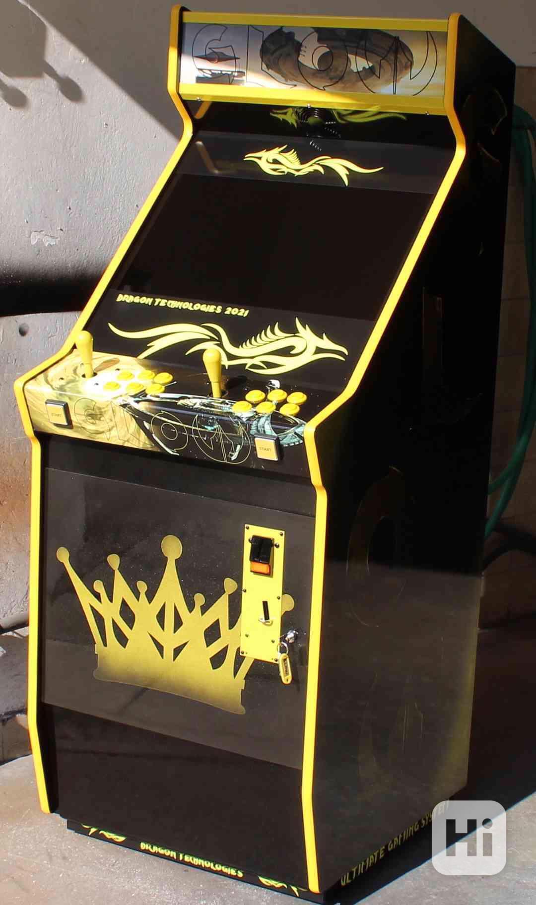 Zábavní herní hrací automat Gamex GLOW D.Tech 2021 - foto 1