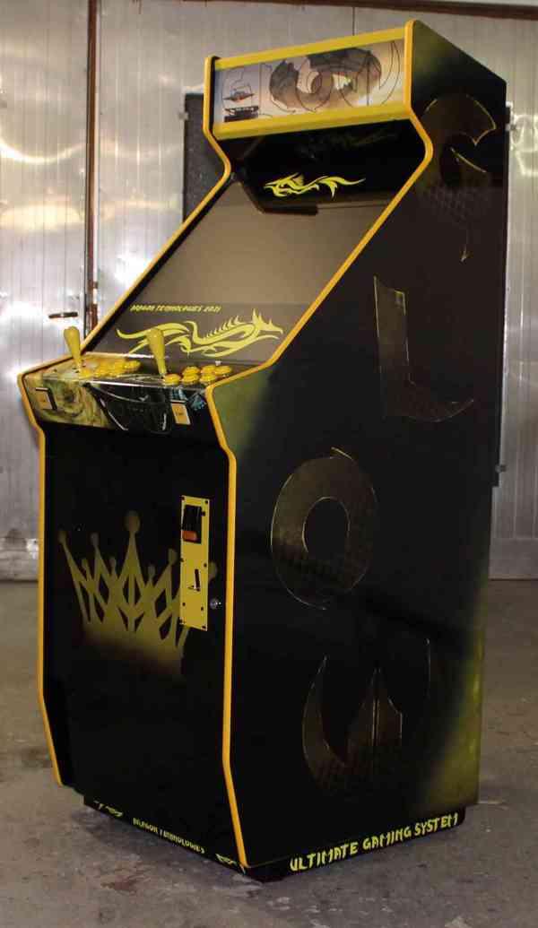 Zábavní herní hrací automat Gamex GLOW D.Tech 2021 - foto 2