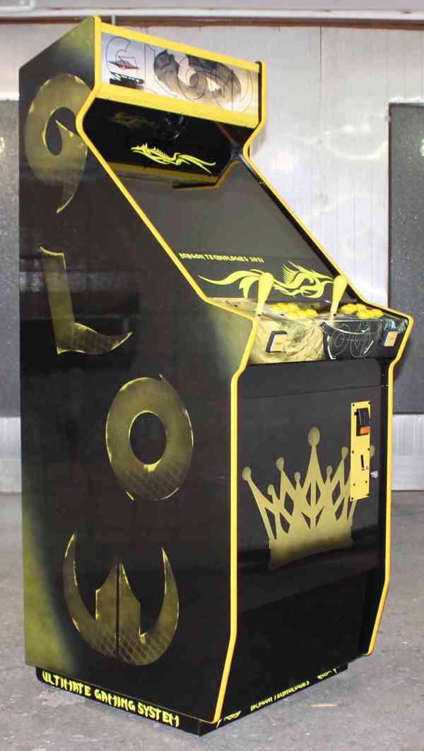 Zábavní herní hrací automat Gamex GLOW D.Tech 2021 - foto 3