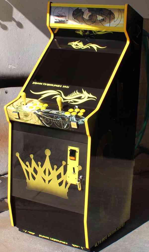 Zábavní herní hrací automat Gamex GLOW D.Tech 2021