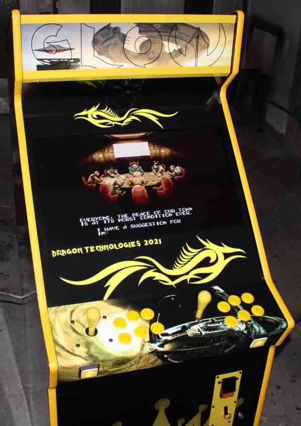 Zábavní herní hrací automat Gamex GLOW D.Tech 2021 - foto 6